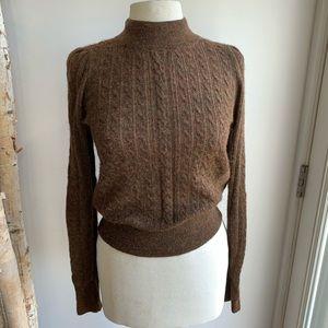 DÔEN Dolly Sweater in Dark Tabac - M